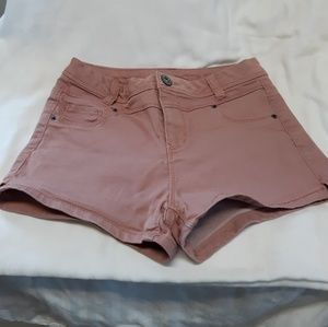 Dusty rose pink vanilla star shorts